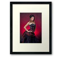 Dragons Blood Fashion Framed Print