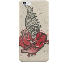 As the heart flies iPhone Case/Skin