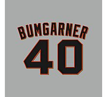 Madison Bumgarner Jersey Photographic Print