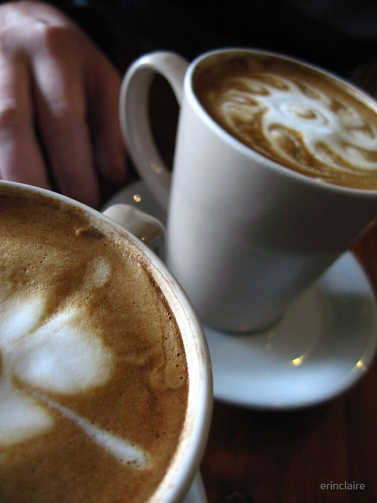 His 'n' Hers coffee by Erin Lyall