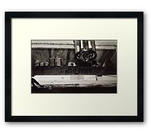 Inside Adam Hats Deep Ellum Framed Print