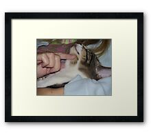 Everyone deserves a little love... For B Framed Print