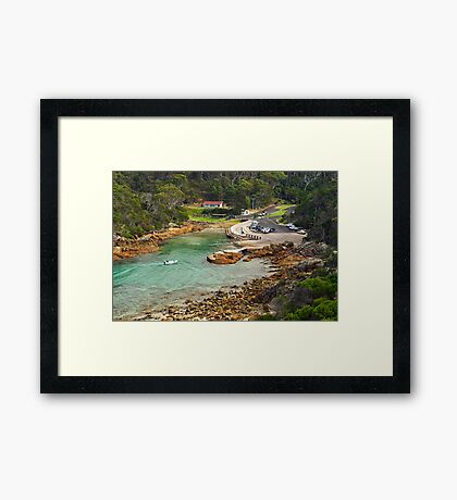 Kianinny Bay at Tathra Framed Print