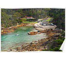 Kianinny Bay at Tathra Poster