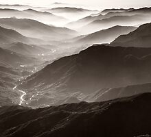 Sequoia National Park Mountains by Nickolay Stanev