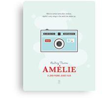 Amélie Canvas Print