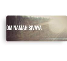 Om Namah Sivaya Canvas Print