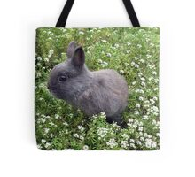 Bunny in Sweet Heaven Tote Bag