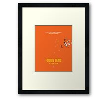 Finding Nemo  Framed Print