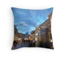 Mediterranean High End Shopping, In Vegas Throw Pillow