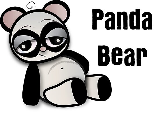 Panda Bear by B Boo