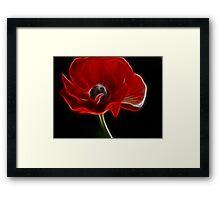 Flowers For Elphaba Framed Print