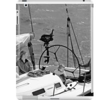 Close-up of Yacht near Lymington iPad Case/Skin
