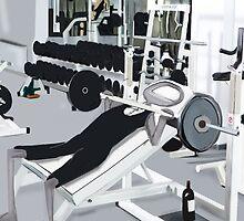 Corky @ the Gym by Nornberg77