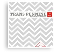 "East Peak Apparel ""Trans Pennine"" Mountain Biking Canvas Print"