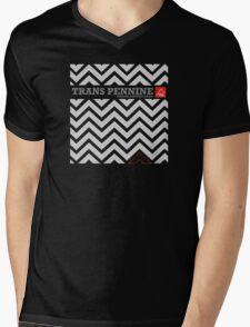 "East Peak Apparel ""Trans Pennine"" Mountain Biking Mens V-Neck T-Shirt"