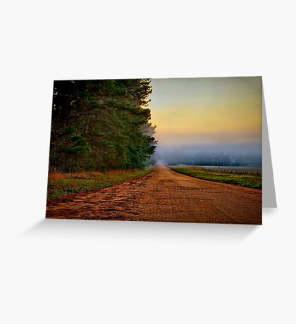 """Blackgate Road"" Greeting Card"