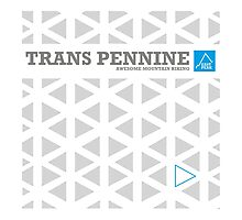 "East Peak Apparel ""Trans Pennine"" Mountain Biking Photographic Print"