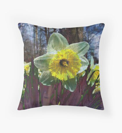 Spring Bloom 2 Throw Pillow