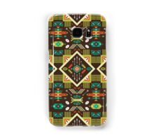 Navajo seamless colorful tribal pattern Samsung Galaxy Case/Skin