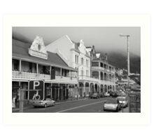 Victorian Hotels, Main Road, Simonstown Art Print