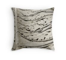 carved Throw Pillow