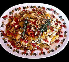 Butternut + Feta Cheese Salad by Warren. A. Williams