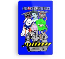 Ghostbusters villains collage Metal Print