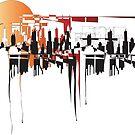 city design - dusk by geniusloci