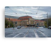 Leipzig Station Canvas Print