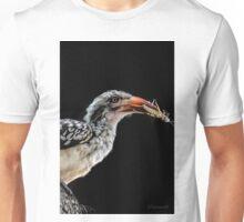 Red-Billed Hornbill (Tockus erythrorhynchus) Unisex T-Shirt