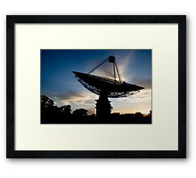 The Dish at Dawn Framed Print