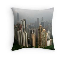 From the Peak Throw Pillow