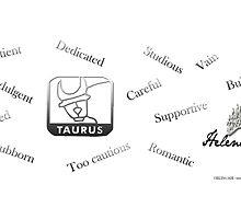 Taurus by helenajade