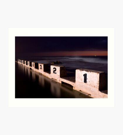 Merewether Ocean Baths Art Print