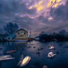 Boatyard. by Nigel Bangert