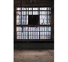 industrial window Photographic Print