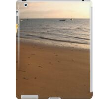 Dhow on the beach iPad Case/Skin