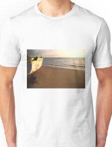 Dhow on the beach Unisex T-Shirt