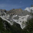 Carrara Mountains by Sue Ellen Thompson