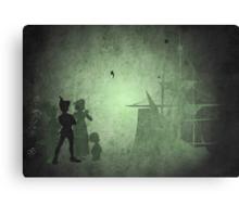 Peter Pan inspired design. Canvas Print