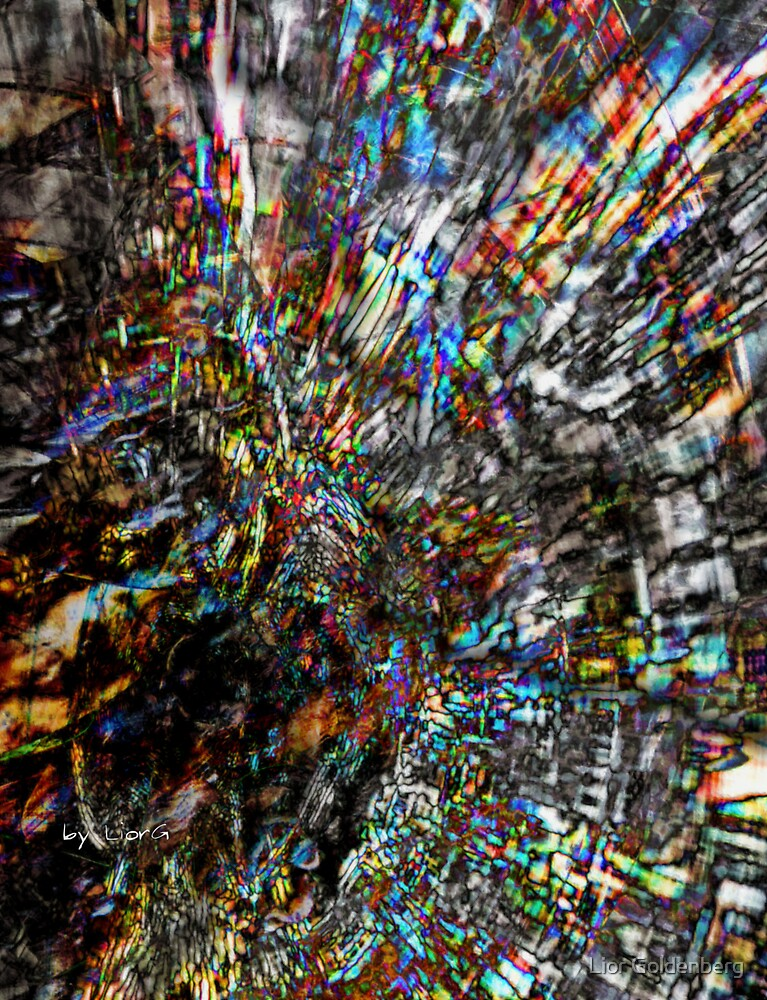 Unstable hyperspace by Lior Goldenberg