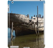 Big Dhow being repaired iPad Case/Skin
