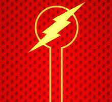 The Flash iphone Case by ImageMonkey