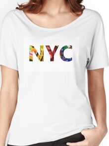 New York Times Square Women's Relaxed Fit T-Shirt