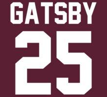 "Jay Gatsby ""25"" Jersey by ShirtAutonomy"