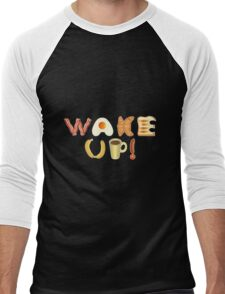 Wake up! Men's Baseball ¾ T-Shirt