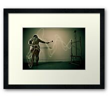 Love and hate Framed Print