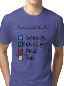 What kind of Bender are you? - Earth Tri-blend T-Shirt