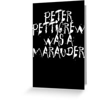 Peter Pettigrew 2. Greeting Card
